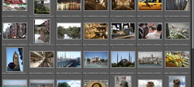 digital catalog software screenshot - Lightroom